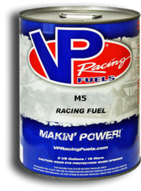 VP Racing Fuel M5 Racing Methanol w/ Combustion & Lube Additives - 5 Gallon Pail