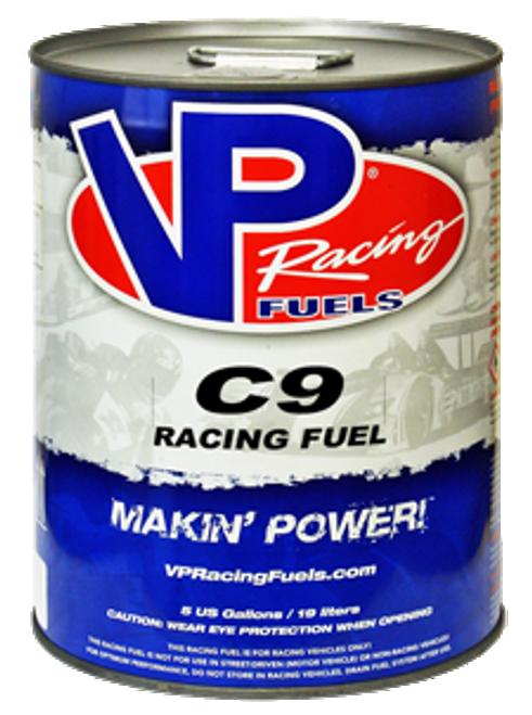 VP Racing Fuel C9 - 96 Octane Unleaded Ethanol Free Fuel -  5 Gallon Pail