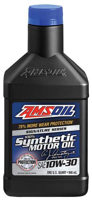 AMSOIL Signature Series 10W-30 Synthetic Motor Oil (Quart)
