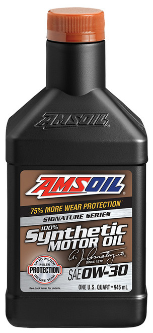 AMSOIL Signature Series 0W-30 Synthetic Motor Oil (Quart)