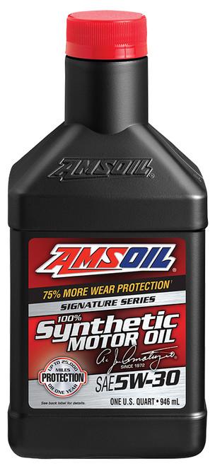 AMSOIL Signature Series 5W-30 Synthetic Motor Oil (Quart)