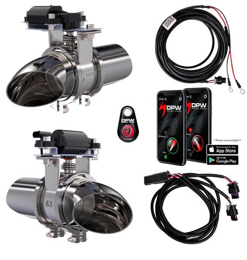 "Digipower USA 30205 - 2.5""Exhaust EVO Cutouts"