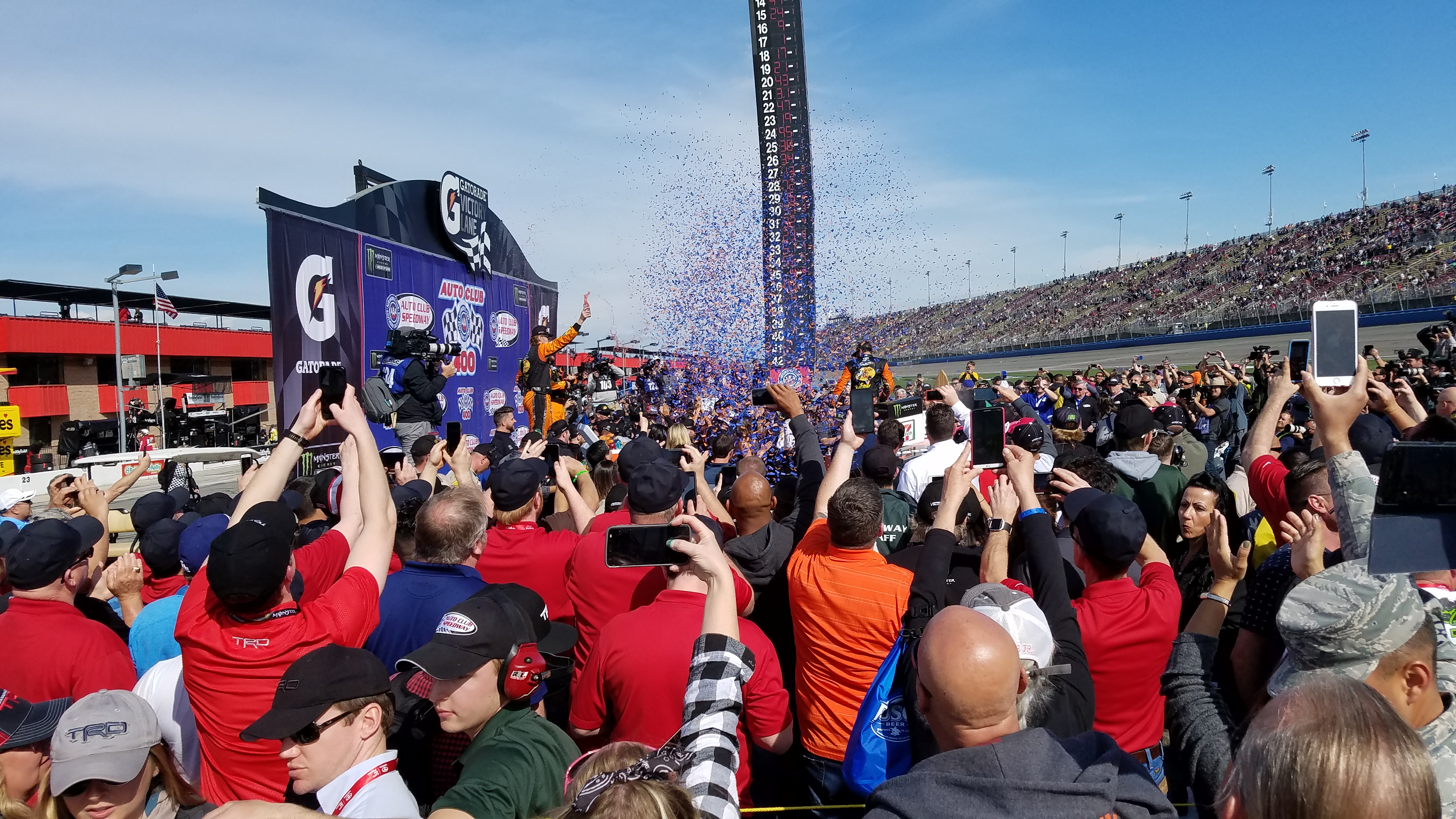 NASCAR Monster Energy Cup Series - Auto Club Speedway