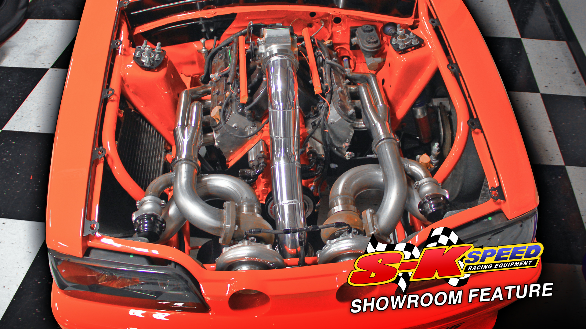 Twin Turbo Ls Swapped Fox Body Mustang Build Sk Speed