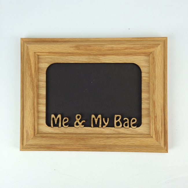 Me & My Bae Tabletop Picutre Frame