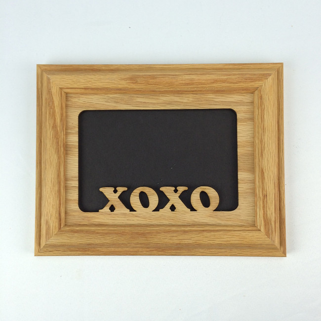 XOXO Tabletop Picture Frame- Horizontal