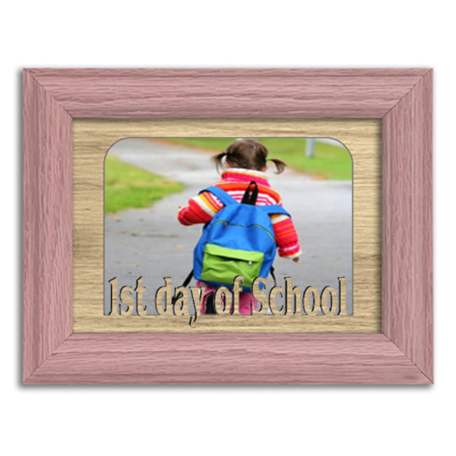1st Day of School Tabletop Picture Frame