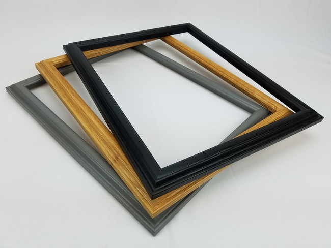 Handmade Wooden Picture Frame - Traditional - Modern -Barnwood Mouldings - 11x14