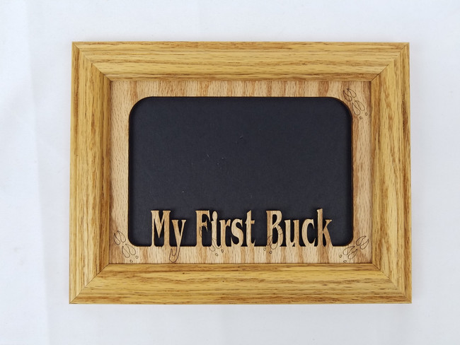 My First Buck Picture Frame 5x7