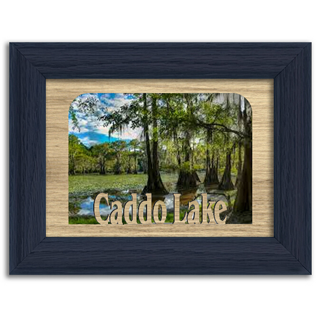 Texas Caddo Lake Personalized Custom Lake Name Picture Frame 5x7