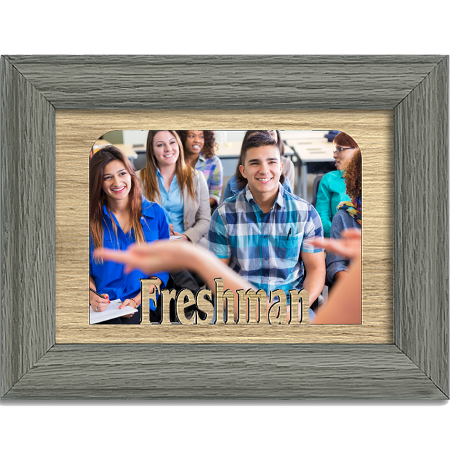 Freshman Tabletop Picture Frame - Holds 4x6 Photo - Multiple Color Options