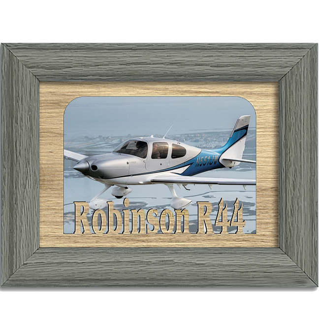 Cirrus SR22 Tabletop Picture Frame - Holds 4x6 Photo - Multiple Color Options