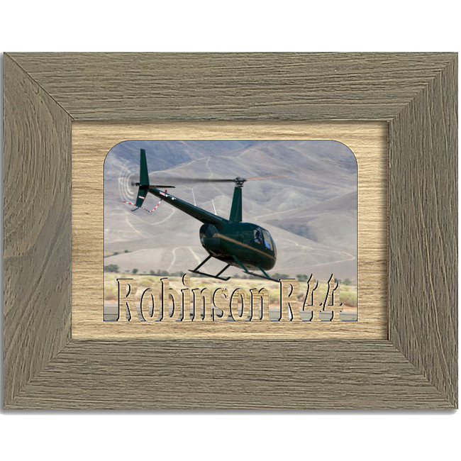 Robinson R44 Tabletop Picture Frame - Holds 4x6 Photo - Multiple Color Options