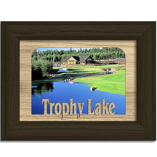 South Carolina Trophy Lake Personalized Custom Lake Name Picture Frame 5x7