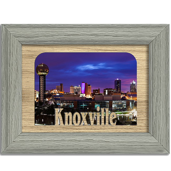 Knoxville Tabletop Picture Frame - Holds 4x6 Photo - Multiple Color Options