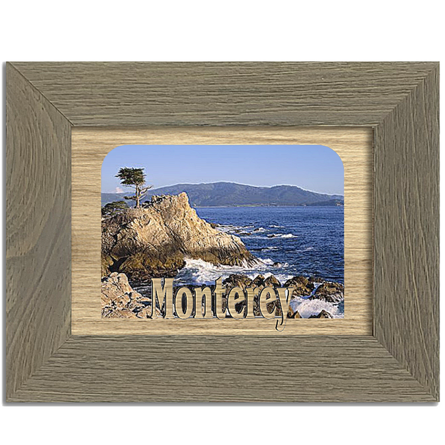 Monterey Tabletop Picture Frame - Holds 4x6 Photo - Multiple Color Options
