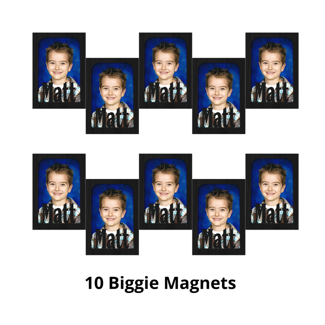 Biggie Magnet Bundle - Magnetic Photo Frames