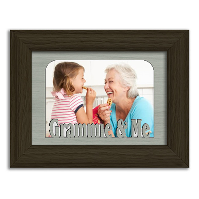 Grammie and Me Tabletop Picture Frame - Holds 4x6 Photo - Multiple Color Options