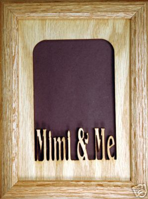 Mimi and Me Picture Frame (vertical)