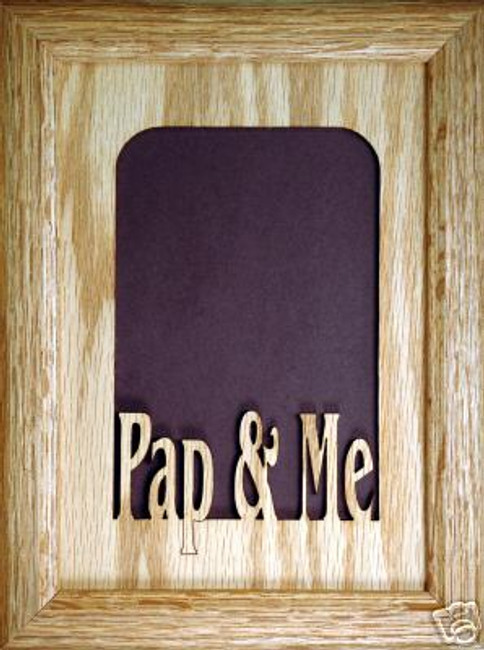 Pap and Me V Picture Frame