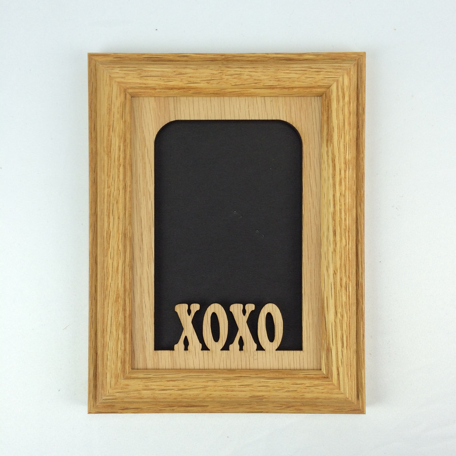 XOXO Tabletop Picture Frame- Vertical