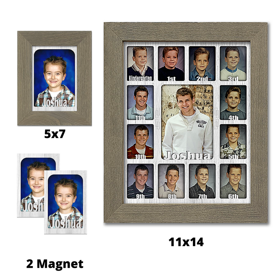 School Years Picture Frame Bundle