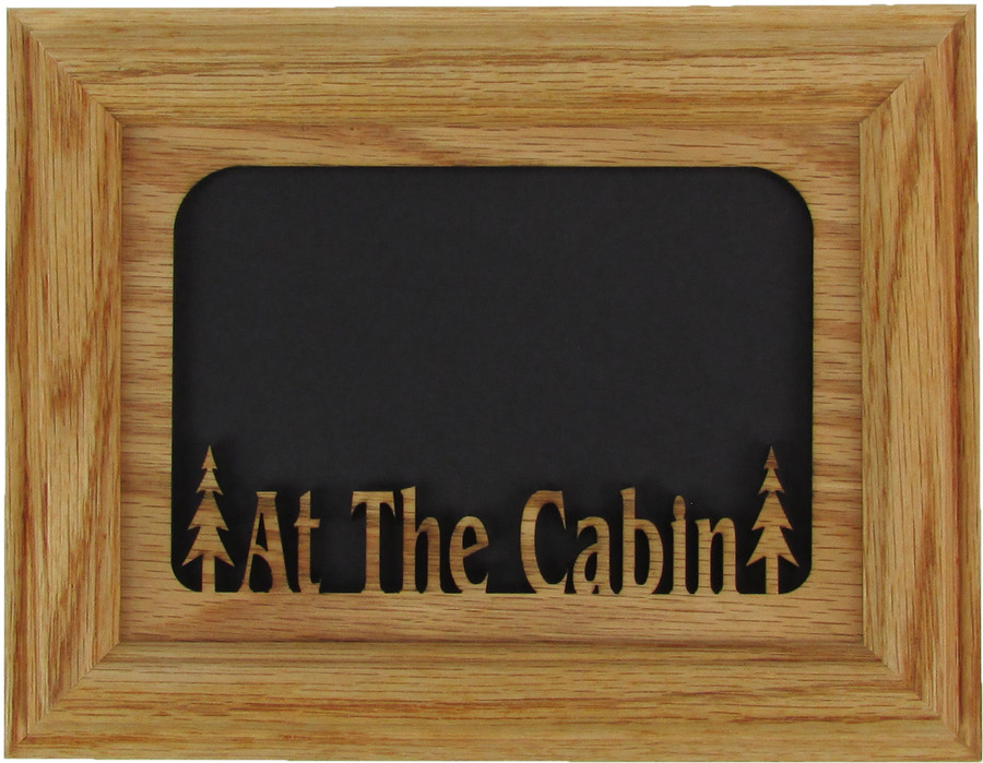 At The Cabin Picture Frame 5x7