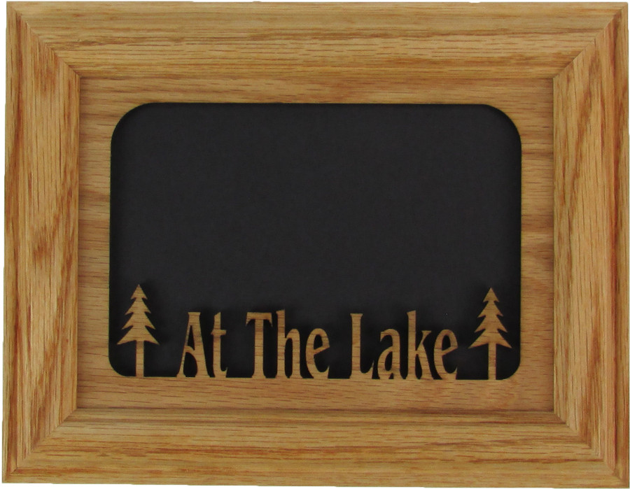 At The Lake Tabletop Picture Frame