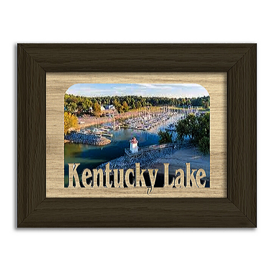 Kentucky Lake  Personalized Custom Lake Name Picture Frame 5x7