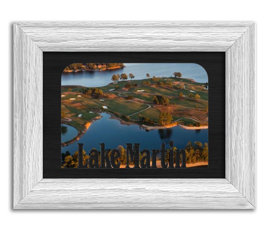 Alabama Lake Martin Personalized Custom Lake Name Picture Frame 5x7