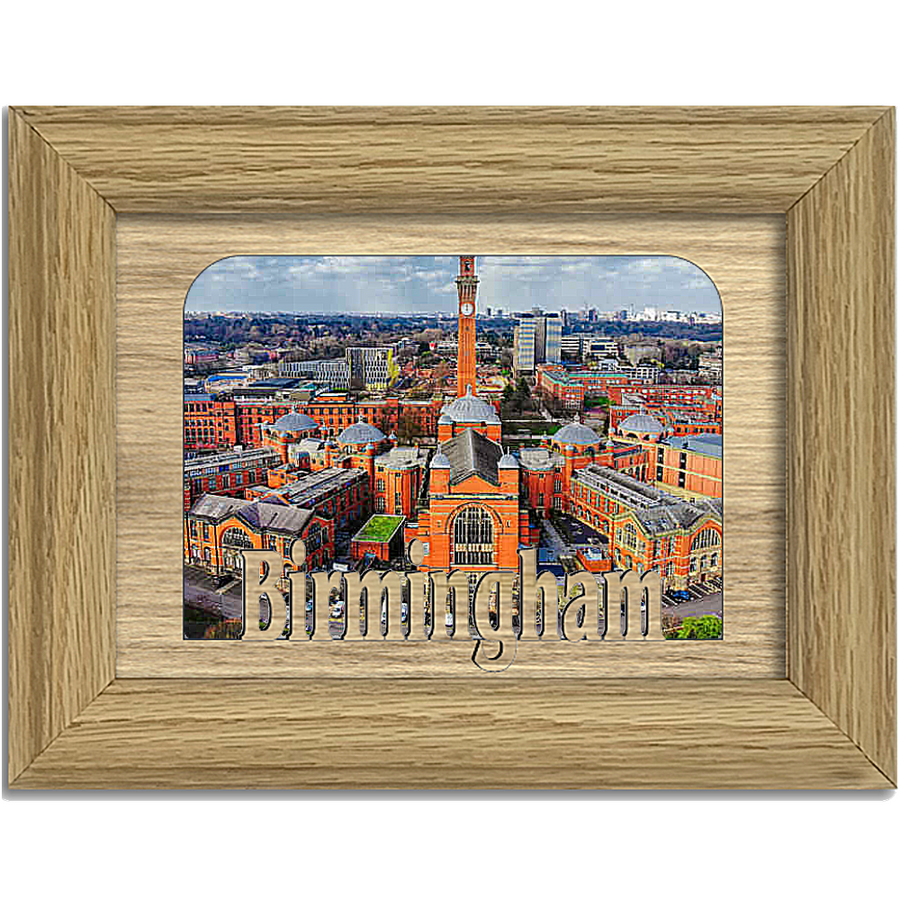 Birmingham Tabletop Picture Frame - Holds 4x6 Photo - Multiple Color Options