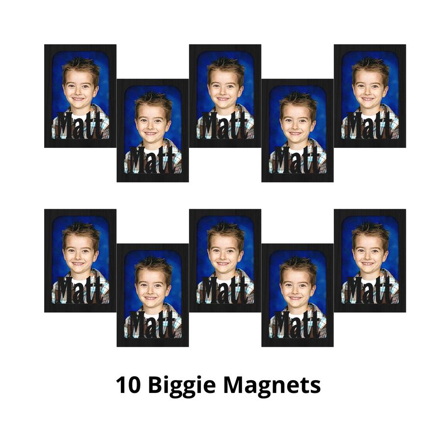 Biggie Magnet Bundle - Magnetic Photo Frames