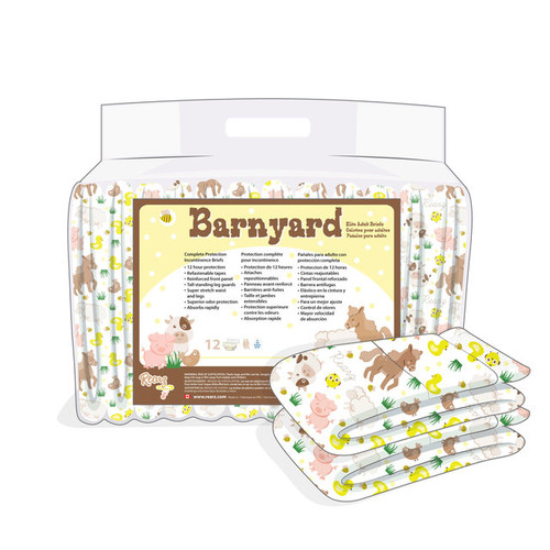 Rearz Barnyard Elite Hybrid Adult Diapers