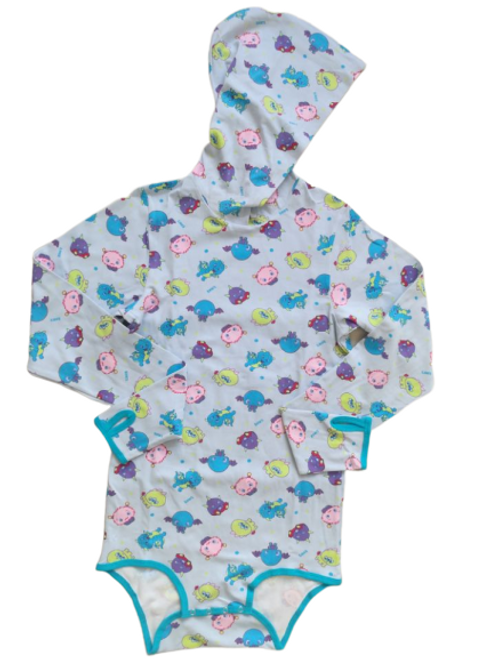 Lil Monsters hooded onesie