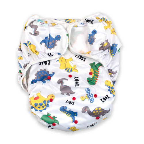 Dinosaur Adult Swim Diaper