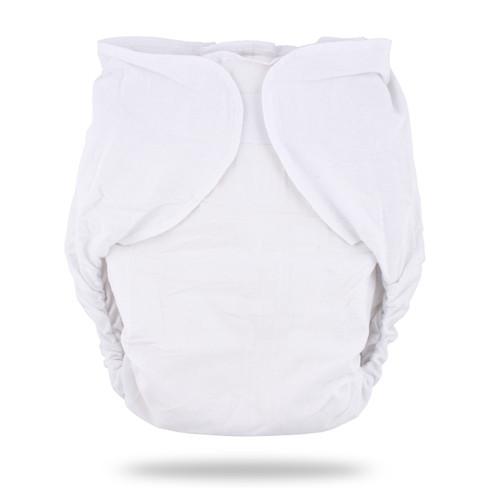 White Omutsu Bulky Nighttime Cloth Diaper