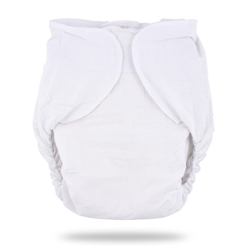 White Omutsu Bulky Nighttime Cloth Diaper