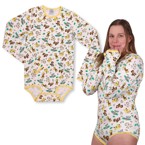 Long Sleeve Safari Onesie