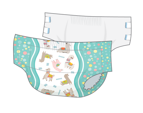 Rearz Alpaca Nighttime Diapers-Sample (2 Pack)