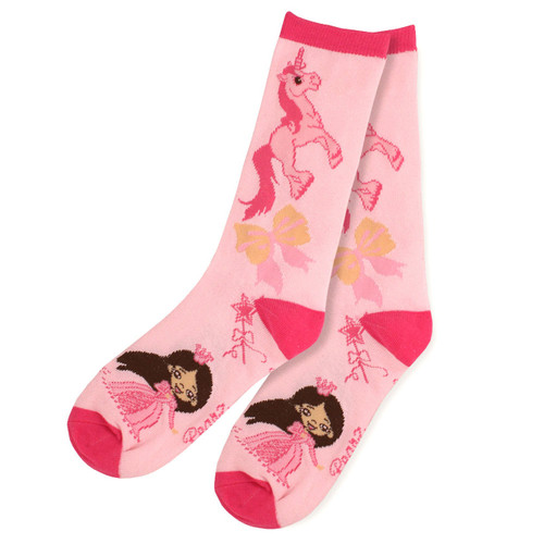 Princess Pink Crew Socks