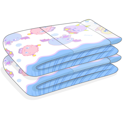 Rearz Lil' Monsters Diapers v 3.0 Sample 2 Pack