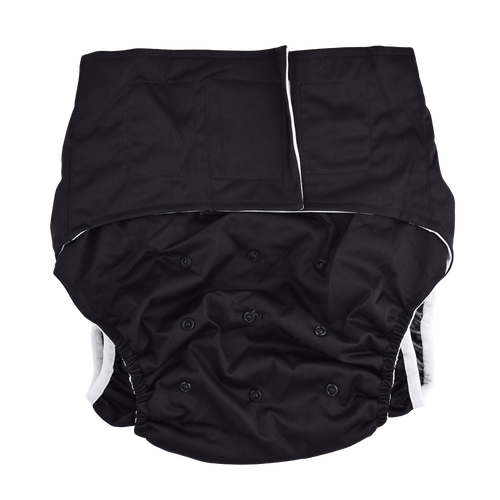 Adult Pocket Diaper - Black