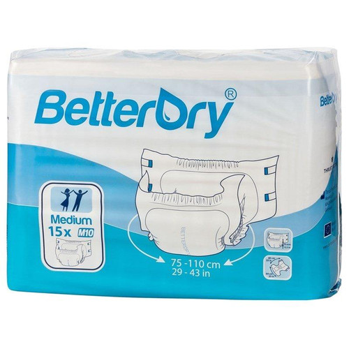 BetterDry Adult Briefs