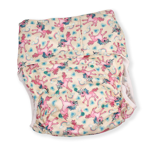 Unicorn Luxury Adult Pocket Diaper