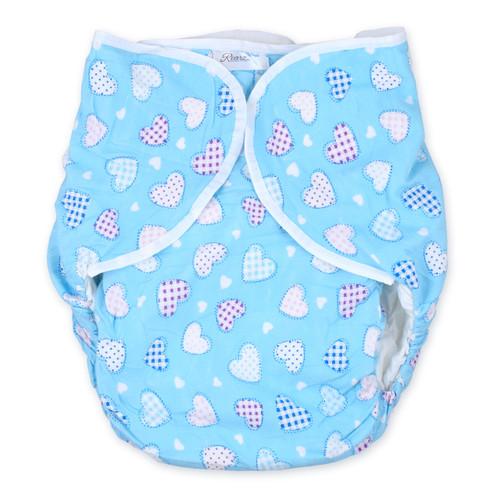 Omutsu Bulky Nighttime Cloth Diaper - Sweet Heart