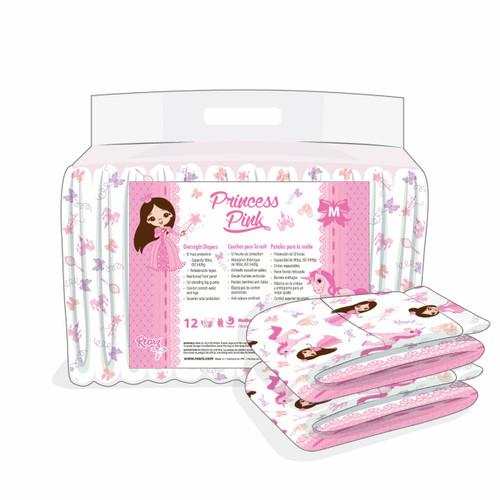 Rearz Princess Pink Overnight Briefs