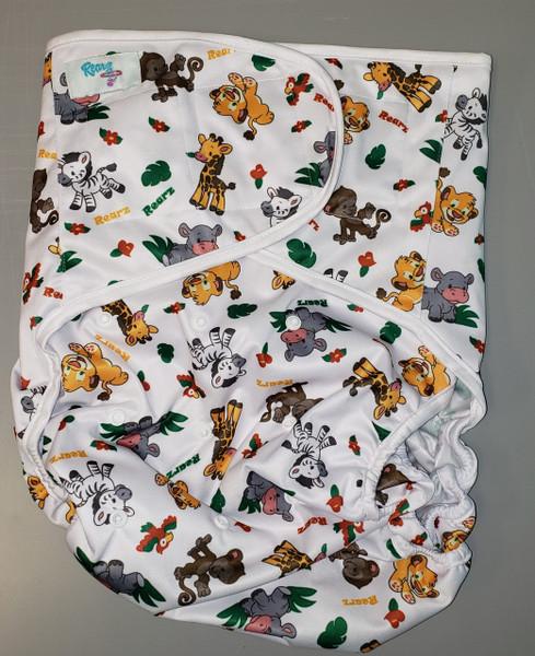 Safari Adult Diaper Wrap