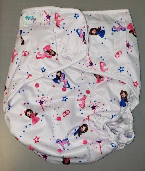 Princess Pink Adult Diaper Wrap
