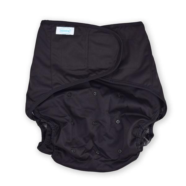 Black Adult Diaper Wrap