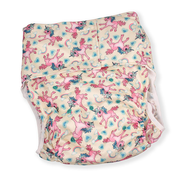 Unicorn Luxury Adult Pocket Diaper
